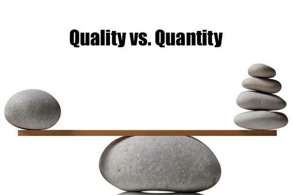 Content Marketing Quality Vs Quantity